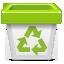 иконки trash, бак, мусорный бак, корзина,