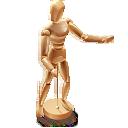 иконки wood mannequin, деревянный манекен,