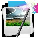 иконка photomanip, фоторедактор, photo, image, фото редактор, фотографии, картинка, изображения,