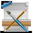 иконка webdesign, веб дизайн, редактировать,