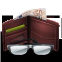 иконки  advertising, кошелек, деньги, money,
