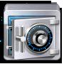 иконки backup, сейф, хранилище,