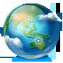 иконка browser, браузер, интернет, планета, internet,