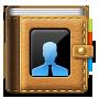 иконка contacts, контакты, book, книга, записная книжка,