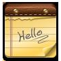 иконки note, записка, блокнот,