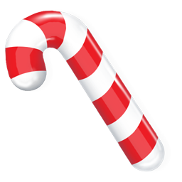иконки Candy cane, конфета, новый год,