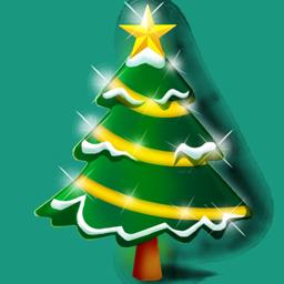 иконка Christmas tree, елка, новогодняя елка, дерево,