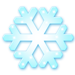 иконки snow flake, снежинка,