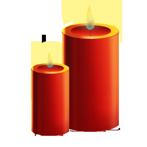 иконки Candles, свечи,