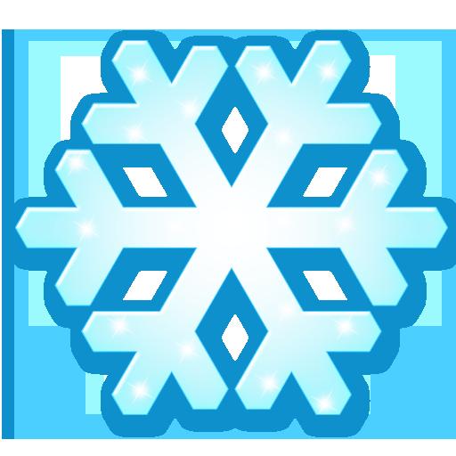 иконка snow flake, снежинка,