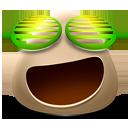 иконки Happy, счастливый, довольный, смайл, смайлик,