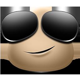 иконка Cheat, крутой, смайлик, smile, смайл,