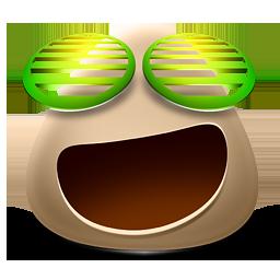 иконка Happy, счастливый, довольный, смайл, смайлик,