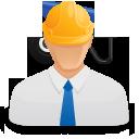 иконки прораб, человек, мужчина, строитель,