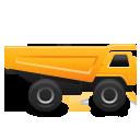 иконки грузовик, грузовая машина,