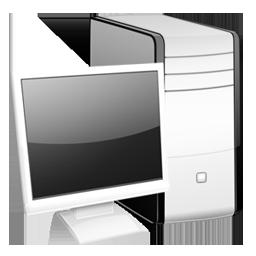 иконки монитор, monitor, системный блок, компьютер,