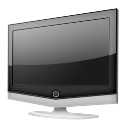 иконка tv, телевизор,