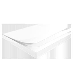 иконка заметки, чистые листы, бумага,