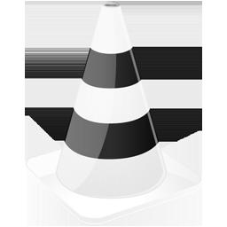 иконки VLC Media player, конус,