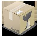 иконки Inbox, коробка, ящик, box,