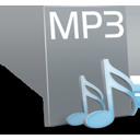 иконки  mp3, музыка, файл, формат,