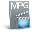 иконки  mpg, видео, файл, формат,