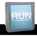 иконка RUN,