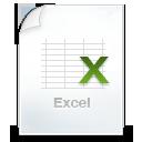 иконки  excel, эксель, файл,