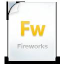 иконка fireworks, файл,