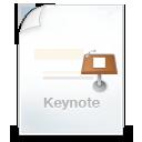 иконки keynote, файл,