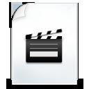 иконки  movie, видео, файл,