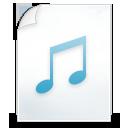 иконка music, музыка, нота, файл,