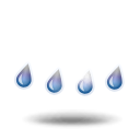иконки  дождь, осадки, погода, weather,