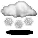 иконка облачно, снег, погода, weather,