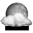 иконка луна, погода, weather, тучи, облака,