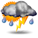 иконки  осадки, погода, weather, гроза,
