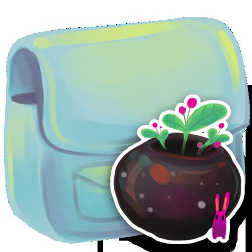 иконки folder, Flowerpot, цветочный горшок, папка,
