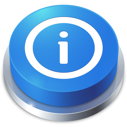 иконки Button, Info, кнопка, информация,