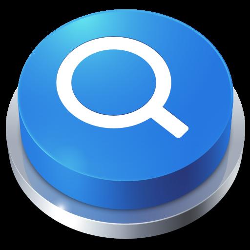 иконка Button, Search, кнопка, поиск,