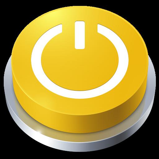 иконка Button, Standby, кнопка, ожидание, в режим ожидания,