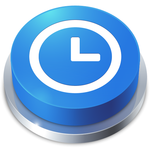 иконка Button, Time, кнопка, время,