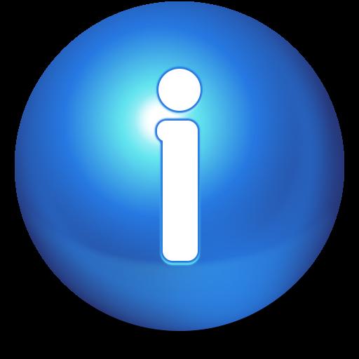 иконки Cute Ball, Info, информация,