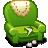 иконки armchair, кресло,
