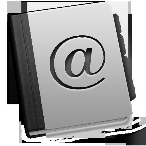 иконки Address, контакты, адресная книга,