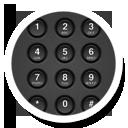 иконки dialer, номеронабиратель, кнопки, клавиатура,