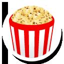 иконка flixter, попкорн,