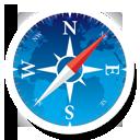 иконка navigator, safari, сафари, браузер,