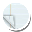 иконка notepad, блокнот,