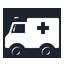 иконки ambulance car, скорая помощь, машина, автомобиль,