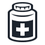 иконки bottle, баночка, таблетки, лекарства,